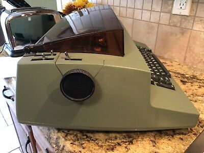 Ibm Correcting Selectric Ii Electric Typewriter With Dust Cover Works Great!