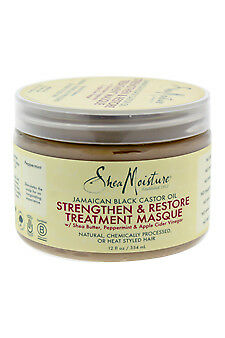 Jamaican Black Castor Oil Strengthen-Grow & Restore Treatment Masque , Shea Mois