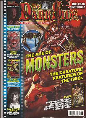 The Dark Side Magazine Issue 176 - The Age Of Monsters Features Of The 1950's