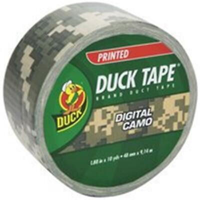 Shurtech Brands 1378542 1.88 In. x 10 Yard Digital Camo Duck Tape
