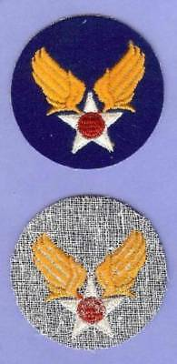 US Army Air Force USAAF Patch Sign WWII, on Felt