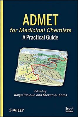 ADMET for Medicinal Chemists: A Practical Guide Hardback Book The Cheap Fast
