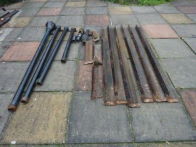 Job Lot Cast Iron Gutters Drain Pipes Hopper  Reclaimed Salvage