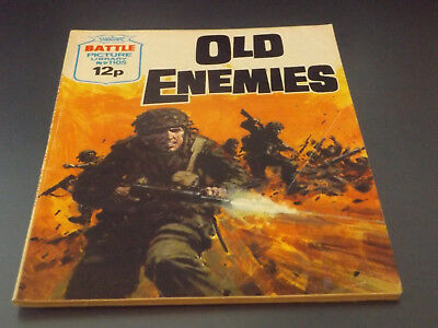 BATTLE PICTURE LIBRARY NO 1105,dated 1977!,V GOOD FOR AGE,VERY RARE,41 yrs old.