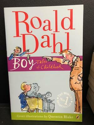 Boy Tales of childhood Puffin Roald Dahl Paperback Book