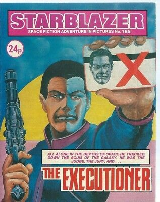 The Executioner,starblazer Space Fiction Adventure In Pictures,comic,no.165