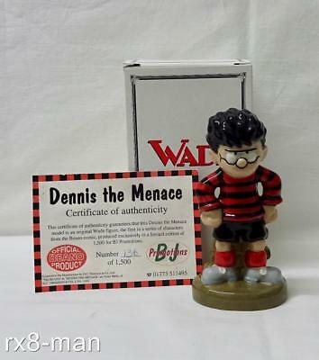 1999 Superb Vintage Wade Dennis The Menace Limited Edition Figure Boxed + Coa