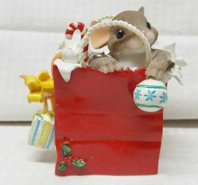 Your Gift Is In the Bag Charming Tails Mouse in Gift Bag