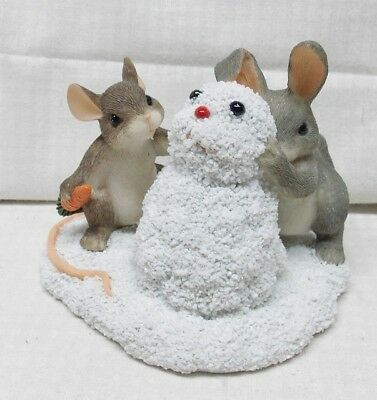 Building a Snow Bunny Charming Tails Mouse and Bunny