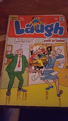 Laugh #214 Archie Comics .january  1969