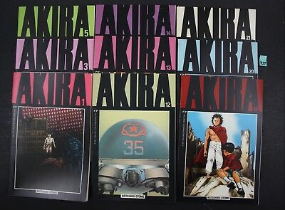 Vintage 1988 Epic Akira Katsuhiro Otomo Graphic Novel 12x Lot READ Descript (937