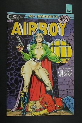 Vintage 1986 Eclipse No. 5 Airboy Comic Book Return of Valkyrie 960