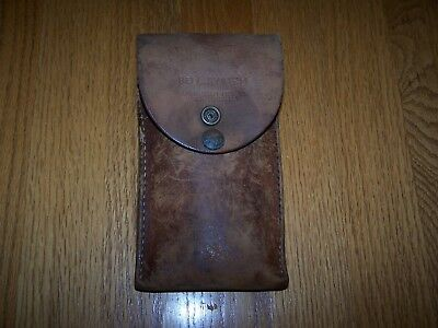 Buckingham Manufacturing Company Bell System Lineman's Leather Tool Pouch