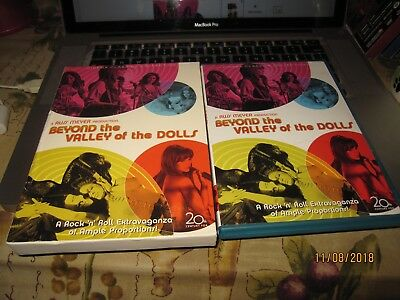 Beyond the Valley of the Dolls 2DISC DVD W/SCENE INSERT AND LOBBY CARDS BIN