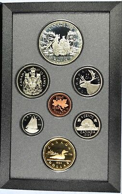 1989 Royal Canadian Mint Proof Set - With orignal Gov Packaging & COA (b453.7)
