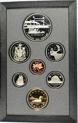 1991 Royal Canadian Mint Proof Set - With orignal Gov Packaging & COA (b453.9)