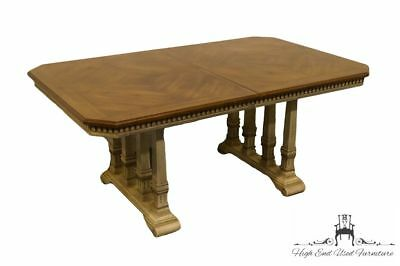 "STANLEY FURNITURE French Provincial 66"" Rectangular Trestle Dining Table 2144-70"