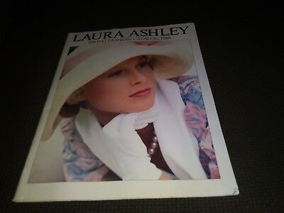 Spring 1985 Laura Ashley Fashion Catalog Clothing