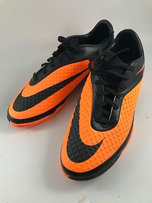 in stock 2253d 6ab5f ORIGINAL RARE NIKE Hypervenom Phantom 8.5 2013 Orange Black Neymar Indoor  Cleats