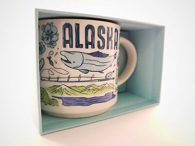 *New* Starbucks Alaska Been There Series Large Coffee Tea Mug 14oz 2018/2019