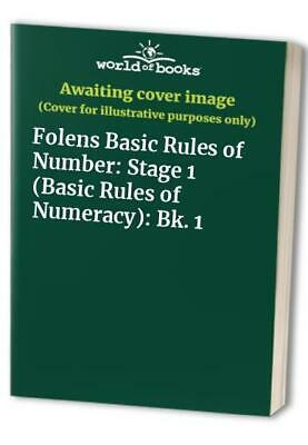 Folens Basic Rules of Number: Stage 1 (Basic Rules of Numeracy... Paperback Book
