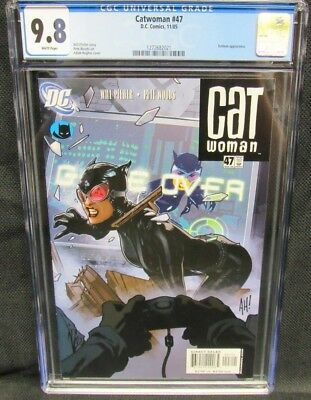 Catwoman #47 (2005) Adam Hughes Cover CGC 9.8 White Pages CM924