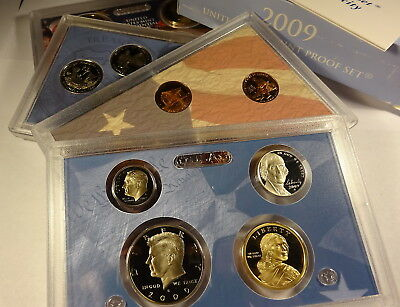 2009 S COMPLETE PROOF SET OF * 18 * COINS  US Mint Box w COA UNSEARCHED
