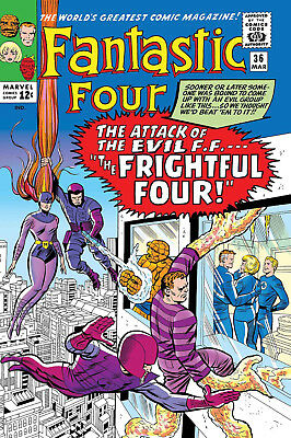 True Believers Fantastic Four Frightful Four #1 (Reprint) (Marvel) - 12/19/18