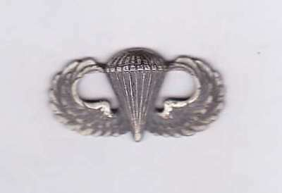 U.S. Army Paratrooper Airborne WingsPin Badge