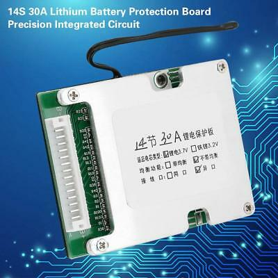 14S 30A BMS PCB Protection Board 3.7V Li-ion Lithium Battery Cell Safe Charge
