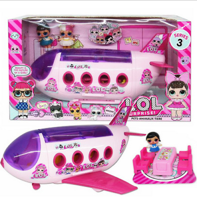 LOL Surprise Doll airplan Playset Baby Figure Topper Kids Girls Toys Xmas Gifts