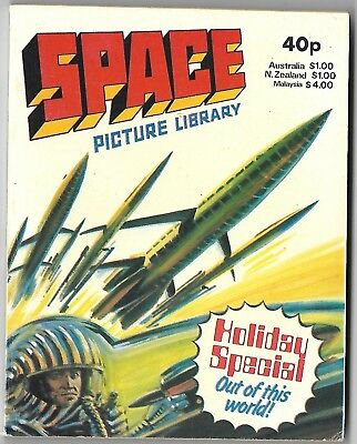 1980. SPACE PICTURE  LIBRARY Comic. HOLIDAY SPECIAL. 3 stories. 192 pages