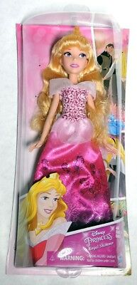 ESZ9094. Disney Princess Royal Shimmer AURORA DOLL Pink Dress From Hasbro (2016)