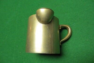 Vtg German Silver Milk Creamer