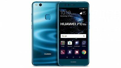 """Huawei P10 Lite WAS-LX1A 32GB 12MP Android Mobile Smartphone Blue Unlocked 5.2"""""""