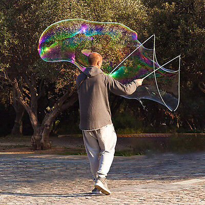 Giant Bubble Maker Wand Big Large Bubbles Outdoor Toys Kids Game Toy CB