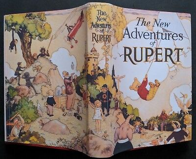 RUPERT ANNUAL 1936..ORIGINAL..ALL FIVE PAINT/COLOURING PAGES UNTOUCHED...Nr FINE