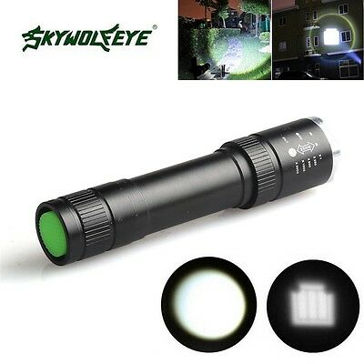 20000LM Flashlight T6 LED Torches Tactical Focus Zoomable Hiking Lamp White!