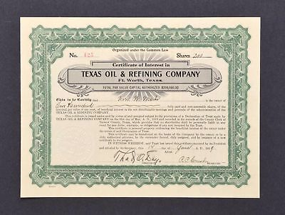 Texas Oil and Refining Company