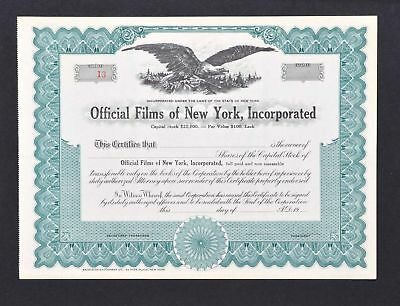 Official Films of New York Incorporated