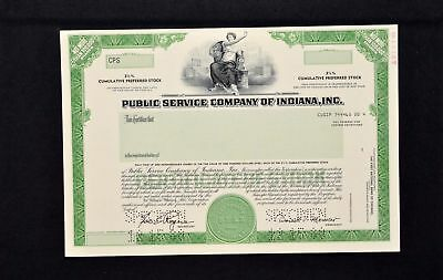 Public Service Company of Indiana Incorporated
