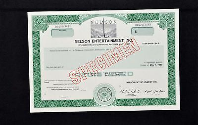 Nelson Entertainment Incorporated