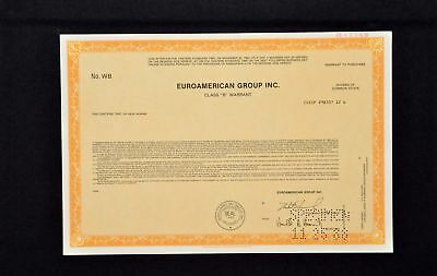 Euroamerican Group Incorporated