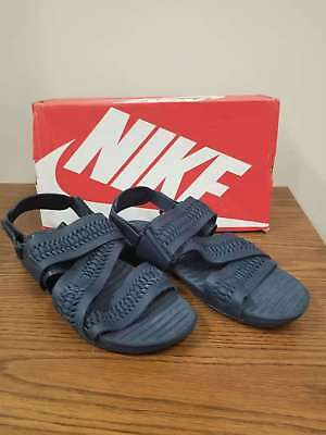 18315e39f50e Nike Air Solarsoft Zigzag Wvn Woven QS Sandals (850588 400) Obsidian US  Size 13
