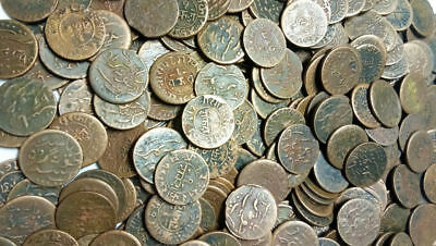 Junagadh State - 1 Dokdo - Copper Coin - 20 Coins Lot