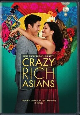 Crazy Rich Asians (DVD,2018)