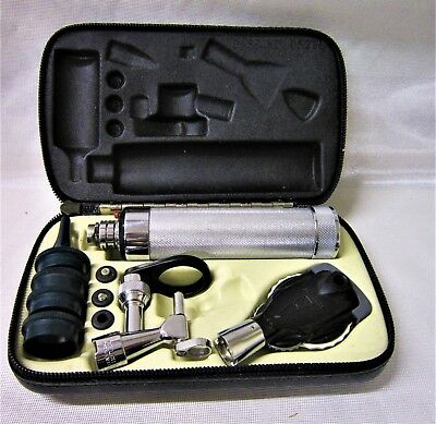 Welch Allyn Otoscope Skan Falls NY With Case NO BATTERY Very Good Condition