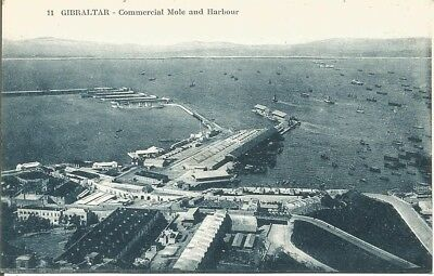 Postcard Of Gibraltar - Commercial Mole & Harbour, No.11,  Unposted