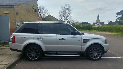 Range Rover Sport V8 Supercharged with LPG, heavy spec + lots of extras! Read on