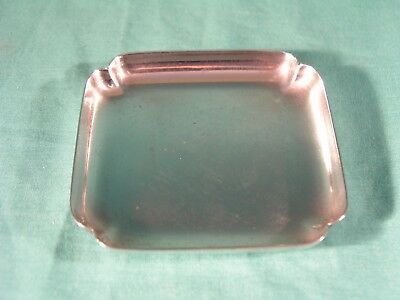 Vintage Tiffany & Co Sterling Silver Pin Dish Tray, stamped with number 22119 an